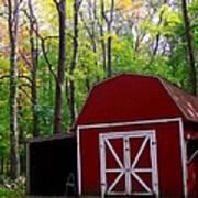 Rural Fall Scene Art Print