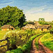 Rural Home Art Print