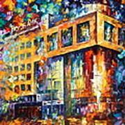 Rusbank Moscow Art Print
