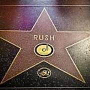 Rush Has A Star Art Print