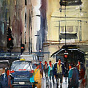 Rush Hour 2 - Chicago Art Print