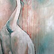 Russian Crane Art Print