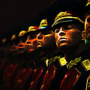 Russian Honor Guard - Featured In Men At Work Group Art Print