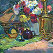 Russian Picnic Still Life Art Print