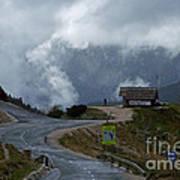Russian Road - Slovenia Art Print