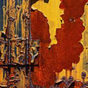 Rust Abstract Art Print