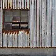 Rust And Window 1 Art Print