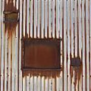Rust And Window 3 Art Print