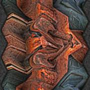 Rust Flow Art Print