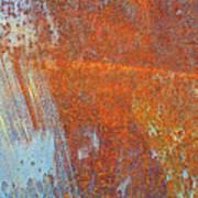 Rust On A Metal Surface Art Print