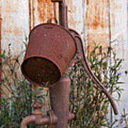 Rusted And Out Of Use Art Print