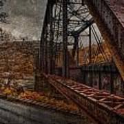 Rusted Bridge Art Print