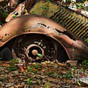 Rusted Print by Louise Heusinkveld