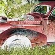 Rusted Truck 4 Art Print