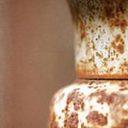 Rusted Urn Art Print