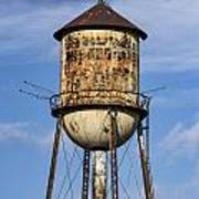 Rusted Water Tower Art Print