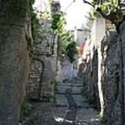 Rustic Alley  -  Provence Art Print
