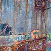 Rustic Hull 2 Art Print