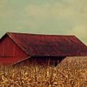Rustic Red Barn Art Print