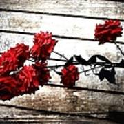 Rustic Rose Art Print