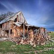 Rustic Ruin Art Print by Shannon Rogers
