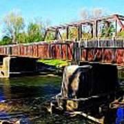 Rusting Bridge Art Print