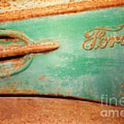 Rusting Ford Art Print