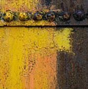 Rusting Machinery Art Print