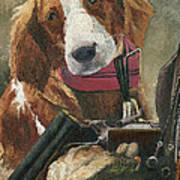 Rusty - A Hunting Dog Art Print