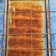 Rusty Blues Art Print