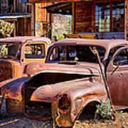 Rusty Cars  Art Print