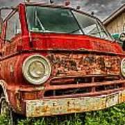 Rusty Dodge Art Print