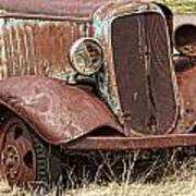 Rusty Old Chevy Art Print