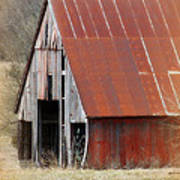Rusty Ole Barn Art Print