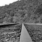 Rusty Rail Art Print