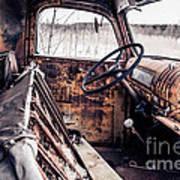Rusty Relic Truck Art Print