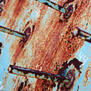 Rusty Spikes Art Print