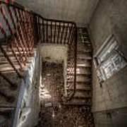 Rusty Stairs Art Print
