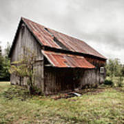 Rusty Tin Roof Barn Art Print