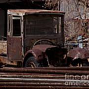 Rusty Truck   #1049 Art Print