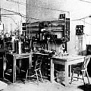 Rutherford's Cavendish Laboratory Art Print