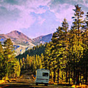 Rv And See America Art Print