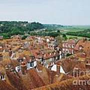 Rye Town Roofs Art Print