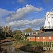 Rye Windmill Art Print