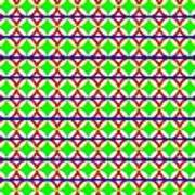 Rygb Squarecirclearcfilled Art Print