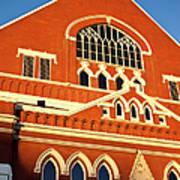 Ryman Auditorium Print by Brian Jannsen