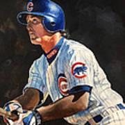 Ryne Sandberg - Chicago Cubs Art Print