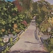 S. Dyer Neck Rd. - Art By Bill Tomsa Art Print