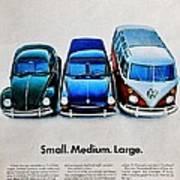 S M L Art Print
