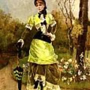 Sa Majeste La Parisienne Art Print